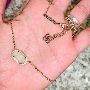 Kendra Scott Elisa necklace in iridescent druzy